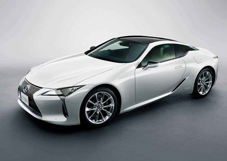 Lexus will announce the new LS/LC sale price tonight