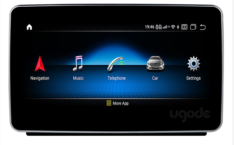 9 inch touch screen for